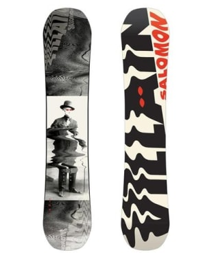 Kid's Salomon Villain Grom 138cm Snowboard - Black