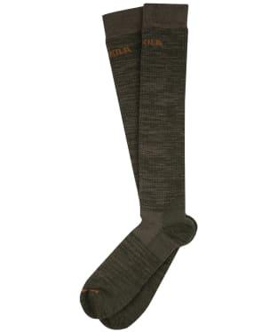 Harkila Pro Hunter 2.0 Long Socks - Willow Green / Shadow Brown