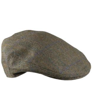 Men's Laksen Laird Flat Cap - Tweed
