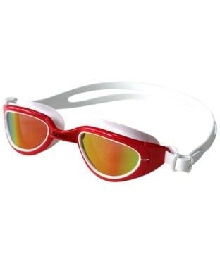 Zone3 Attack Polarized Swim Polarised Goggles - Red / White