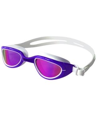 Zone3 Attack Polarized Swim Polarised Goggles - Purple / White