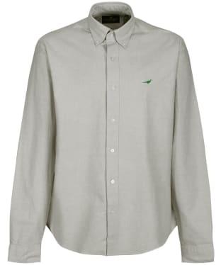 Men's Laksen Harvard Oxford Shirt - Herb Green