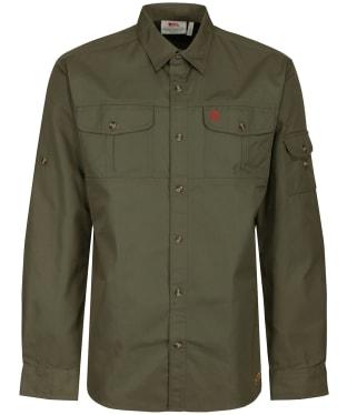 Men's Fjallraven Singi Trekking Shirt - Laurel Green