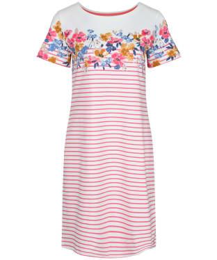 Women's Joules Riviera Print Dress - Cream / Pink