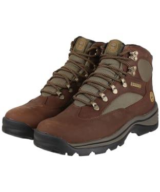 Women's Timberland Chocorua Trail Mid GTX Boots - Dark Brown Full-Grain