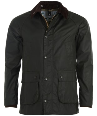 Men's Barbour SL Bedale Waxed Jacket - Sage