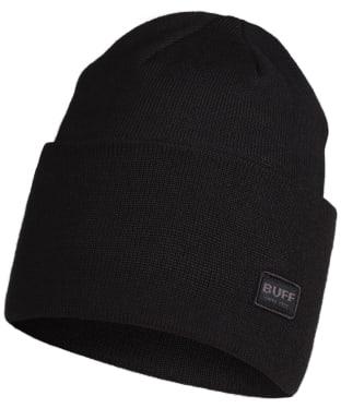 Buff Niels Knitted Beanie - Black