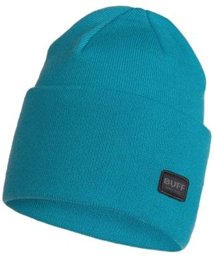 Buff Niels Knitted Beanie - Dusty Blue