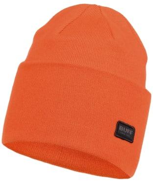Buff Niels Knitted Beanie - Tangerine