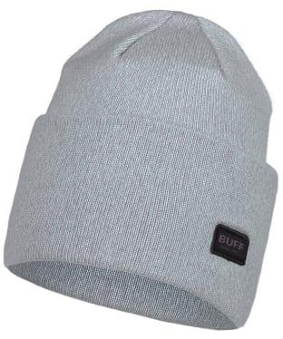 Buff Niels Knitted Beanie - Ash Grey