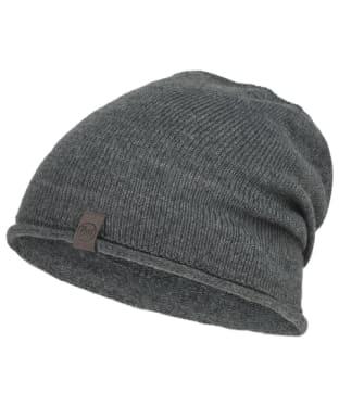 Buff Ted Lekey Knitted Beanie - Grey