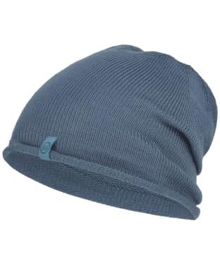 Buff Ted Lekey Knitted Beanie - Ensign Blue