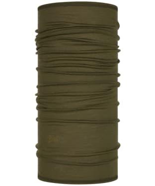 Buff Merino Lightweight Solid Necktube - Bark