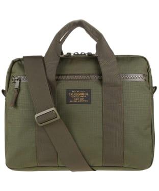 Filson Ripstop Nylon Compact Briefcase - Surplus Green