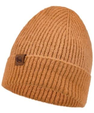 Buff Marin Knitted Beanie - Nut