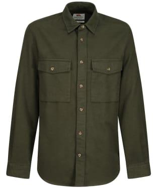 Men's Fjallraven Ovik Twill Shirt - Deep Forest / DPF