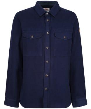 Men's Fjallraven Canada Shirt Solid - Night Sky
