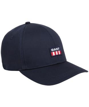 Men's GANT Retro Shield Twill Cap - Evening Blue
