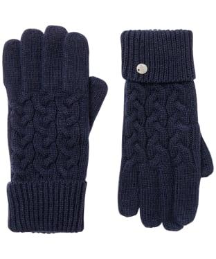 Women's Joules Elena Gloves - French Navy