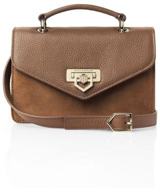 Women's Fairfax & Favor Loxley Mini Crossbody Bag - Tan Suede