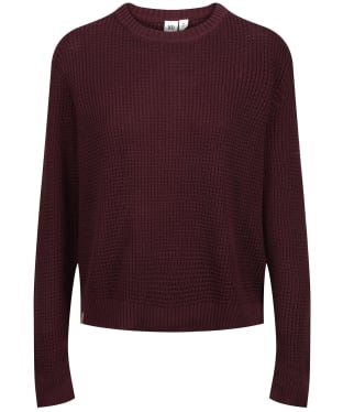 Women's Tentree Highline Cotton Crew Sweater - Mulberry