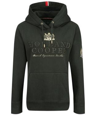 Women's Holland Cooper Heritage Classic Hoodie - Racing Green