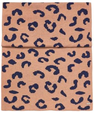 Women's Joules Spotwell Leopard Scarf - Camel Marl