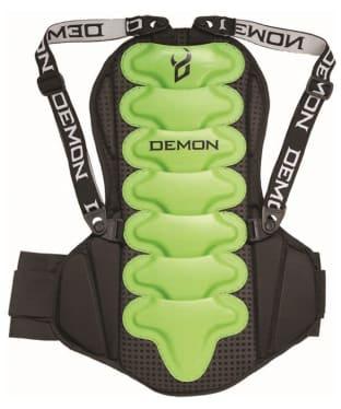 Demon Flexforce Pro Spine Guard - Black