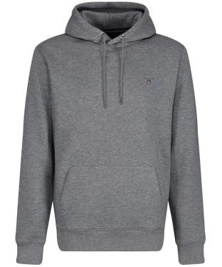 Men's GANT Original Sweater Hoodie - Grey Melange