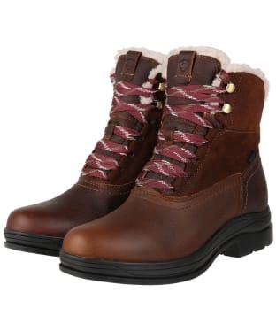 Women's Ariat Harper Waterproof Boots - Dark Brown