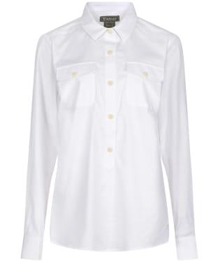 Women's Ariat Loyola Popover Shirt - White