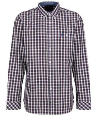 Men's Joules Abbott Classic Check Shirt - Navy/Port