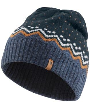 Fjallraven Ovik Knit Hat - Dark Navy