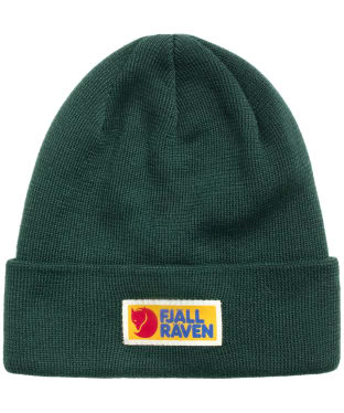 Men's Fjallraven Vardag Classic Beanie Hat - Arctic Green