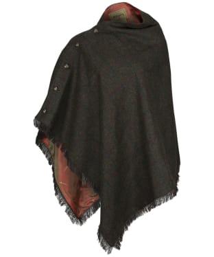 Women's Dubarry Hazelwood Tweed Poncho - Hemlock