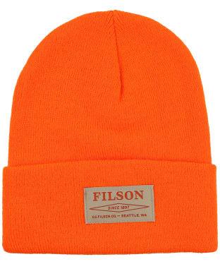 Filson Acrylic Watch Cap - Blaze Orange