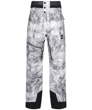 Men's Picture Track Pants - Map Ripstop