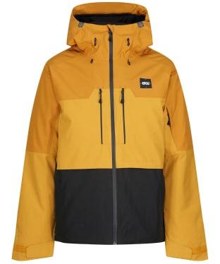 Men's Picture Object Waterproof Jacket - Camel / Black
