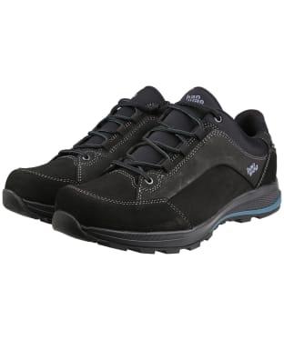 Men's Hanwag Banks Low Bunion GTX Boots - Black / Dusk