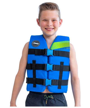 Kid's Jobe Nylon Life Vest - Blue