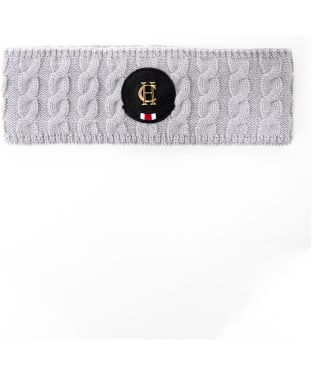 Women's Holland Cooper Luxe Cable Knit Headband - Grey Marl