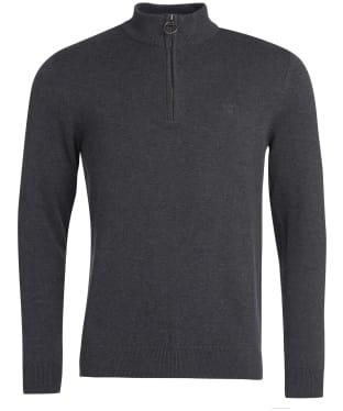 Men's Barbour Avoch Half Zip Sweater - Black