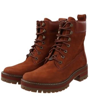 Women's Timberland Courmayeur Valley Boots - Medium Brown Nubuck