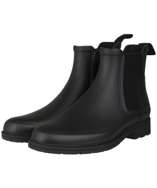 Men's Hunter Original Refined Chelsea Boots - Black