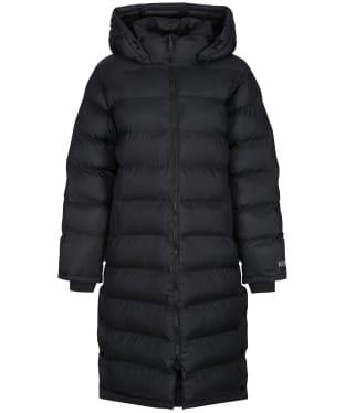 Women's Tentree Cloud Shell Long Puffer Coat - Jet Black