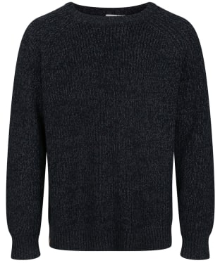 Men's Tentree Highline Wool Crew Sweater - Midnight Blue Twist