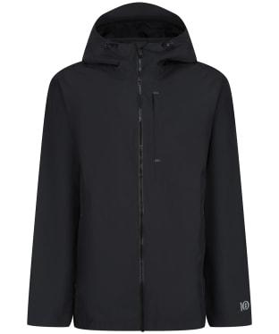 Men's Tentree Nimbus Rain Jacket - Jet Black