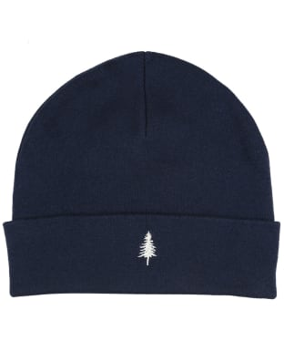 Tentree Tree Embroidery Kurt Beanie - Midnight Blue