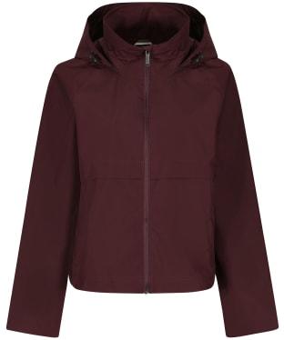 Women's Tentree Nimbus Short Rain Jacket - Mulberry