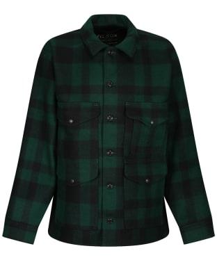 Men's Filson Mackinaw Wool Cruiser Jacket - Green / Black